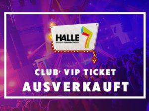 Club 7 Ticket ausverkauft