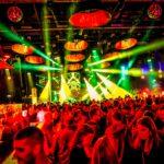 Halle 7 Party Lichtshow